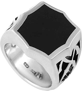 Stephen Webster Silver Onyx Ring