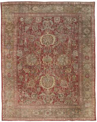 """Sultanabad ABC Home Antique Wool Rug - 10'8""""x17'4"""""""
