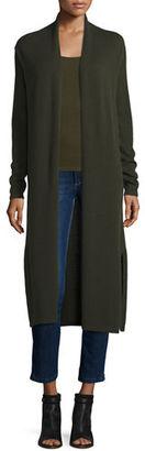 Neiman Marcus Cashmere Collection Long Open-Front Cashmere Duster Cardigan $325 thestylecure.com