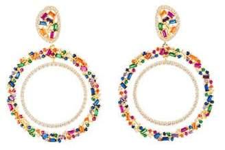 9c2f14edd Angélique de Paris Tutti Frutti Drop Earrings