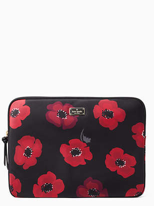 Kate Spade Wilson road poppy laptop sleeve