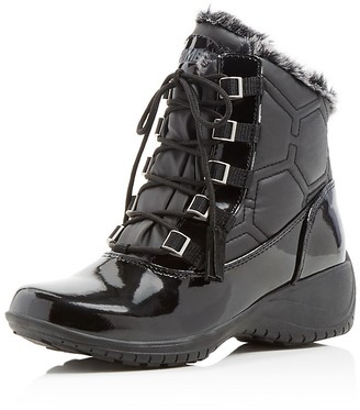 Khombu Annie Quilted Cold Weather Booties $75 thestylecure.com