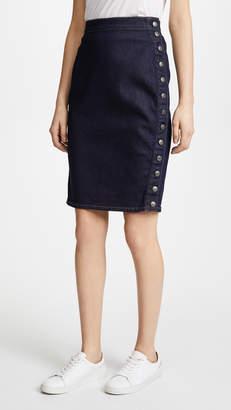 Susana Monaco Denim Pencil Skirt