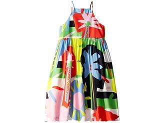 Stella McCartney Sleeveless Palms Dress Early (Toddler/Little Kids/Big Kids)