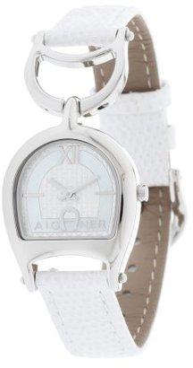 Aigner レディース時計ホワイトa32217 a