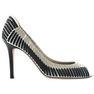 Sergio Rossi Leather high heel