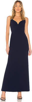 Jill Stuart Sweetheart Neck Gown