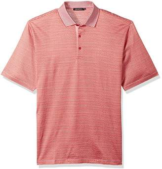 Bugatchi Men's Mercerized Cotton Short Sleeve Polo Shirt