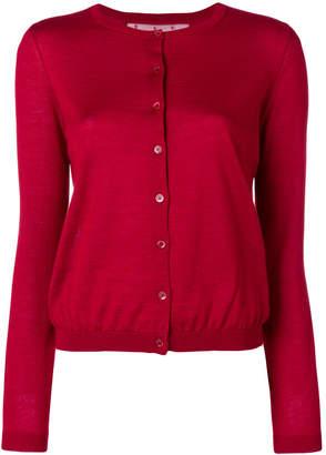 RED Valentino round neck cardigan