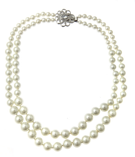 Carolee Double Pearl Strand Necklace
