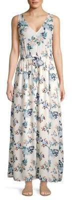 Lucky Brand Floral-Print Maxi Dress