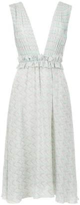 Olympiah Sierra midi silk dress