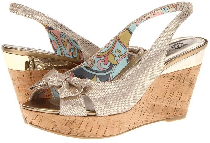 Anne Klein Ada (Sprinkles Natural Gold) - Footwear