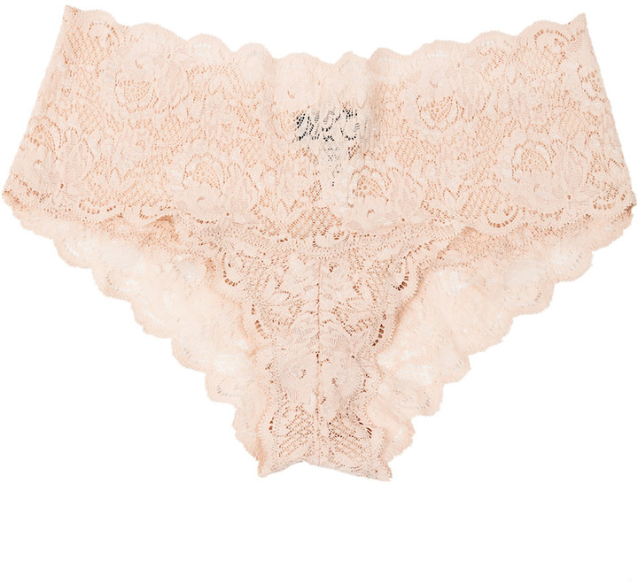 Cosabella Never Say Never Hottie Lowrider Hot Pants Blush