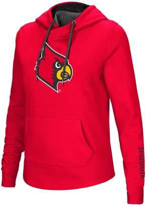 Women's Louisville Cardinals Crossover Hoodie