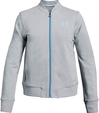 Under Armour Girls' UA Rival Terry Track Jacket