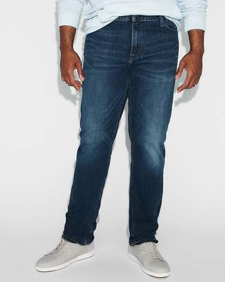 Express Classic Straight Medium Wash Tough Stretch+ Jeans
