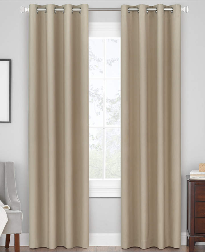 Hudson Hill Berkley 50″ x 63″ Grommet Window Panel