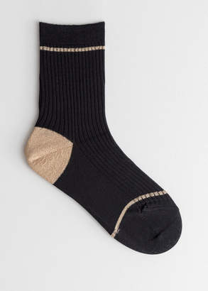 And other stories Stripe Ankle Socks
