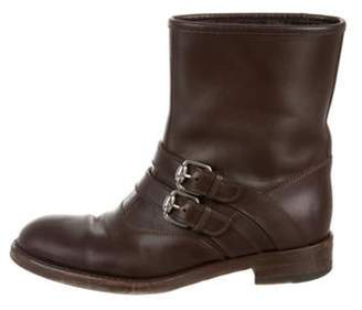 Gucci Leather Ankle Boots Leather Ankle Boots