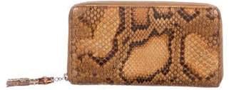 Gucci Bamboo Python Tassel Wallet