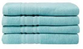 Melange Home Cotton Bath Towel: Set of 4