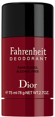 Christian Dior Fahrenheit Alcohol Free Deodorant Stick, 75ml