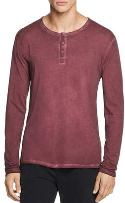 ATM Anthony Thomas Melillo Pigment-Dyed Henley - 100% Exclusive