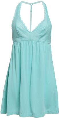 Cosabella Lace And Micro Modal-blend Jersey Chemise