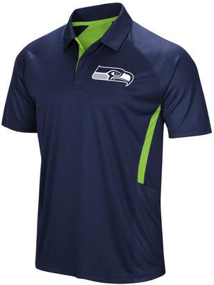 Majestic Men's Seattle Seahawks Game Day Club Polo