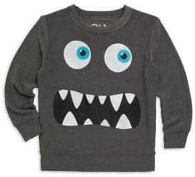 Chaser Little Boy's& Boy's Monster Face Sweatshirt