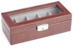 Royce Five-Slot Leather Watch Box