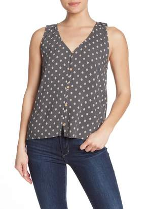 Susina Button Front High/Low Tank (Regular & Petite)