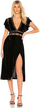 Saylor Alexandra Velvet Dress