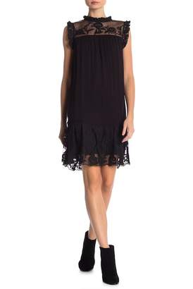 Velvet by Graham & Spencer Marsha Floral Embroidered Shift Dress