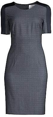 BOSS Women's Dirusa Stretch Wool Sheath Dress