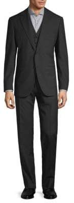 Caruso Striped Wool Suit