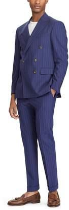 Ralph Lauren Polo Pinstripe Wool-Blend Suit