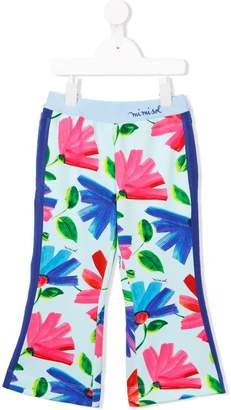 Mi Mi Sol flared floral trousers