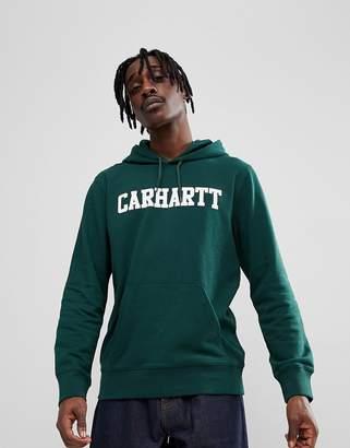 Carhartt WIP College Hoodie In Green