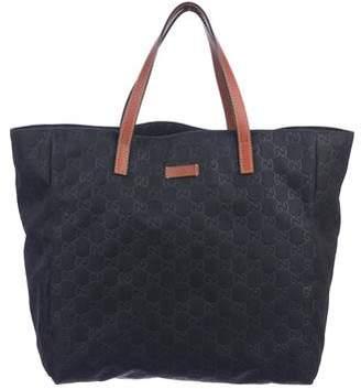 14abab6ea66 Gucci Nylon Tote Bag - ShopStyle