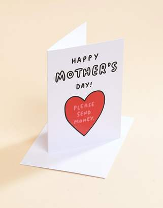Veronica Dearly Please Send Money Mothers Day Card
