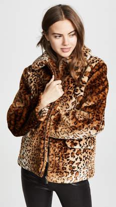 Anine Bing Molly Faux Fur Jacket