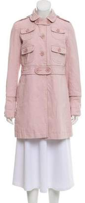 Marc by Marc Jacobs Marc Jacobs Round Collar Button-Up Jackets