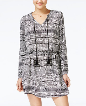 Jessica Simpson Arielle Printed Peasant Dress $79.50 thestylecure.com
