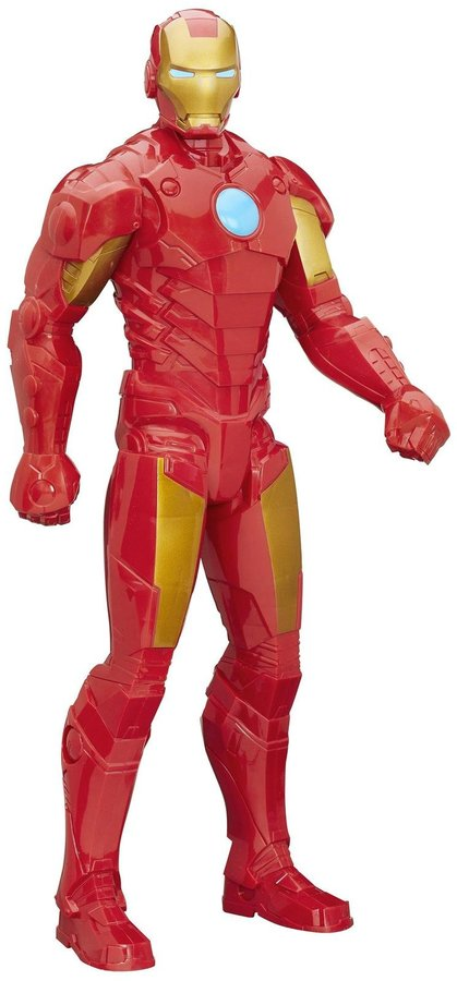 AVENGERS Avengers Titan Hero Xl Iron Man Action Figure, 20-inch