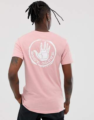 Body Glove Stamped t-shirt in pink