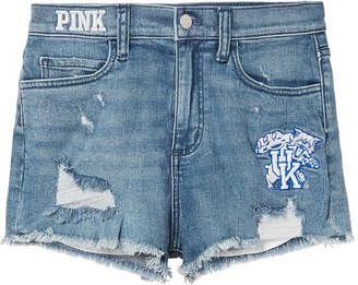 PINK University of Kentucky High-Waist Denim Short