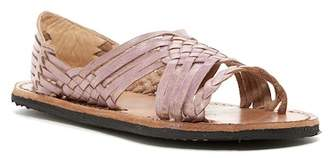 Bed Stu Avery Hurrache Leather Sandal $145 thestylecure.com