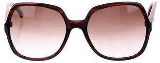Trina Turk Seville RD Gradient Sunglasses